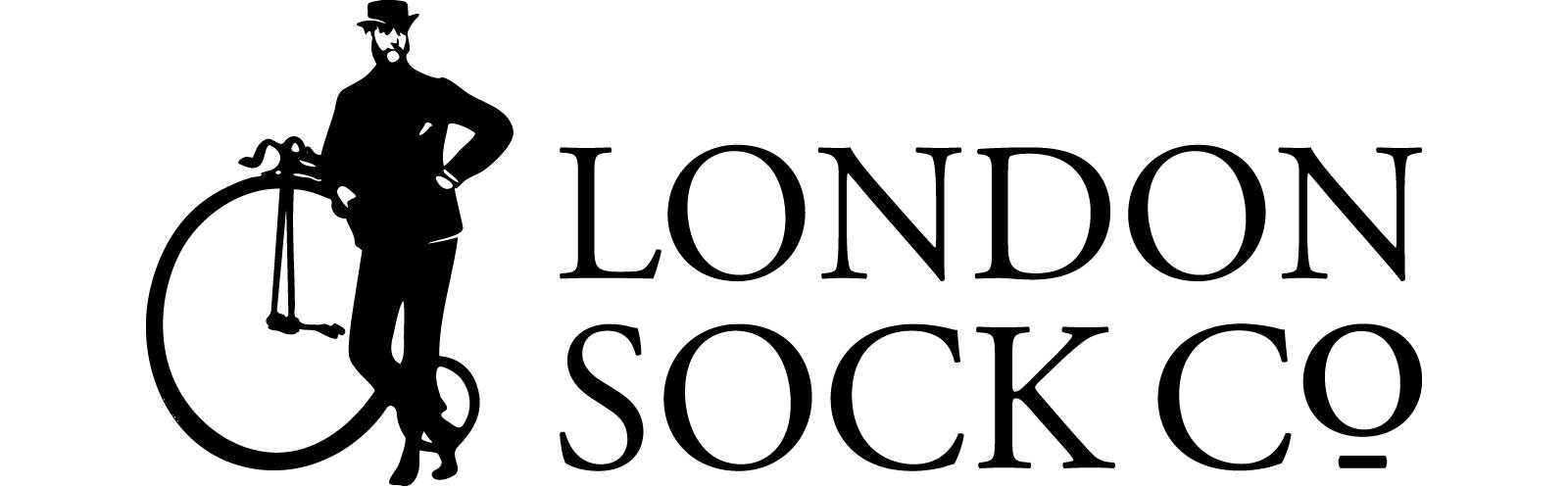 London Sock Co Greenwich Fine Spot (Grey)
