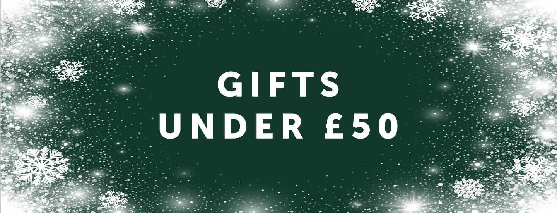 Tredders' Gift Inspiration For Under £50!
